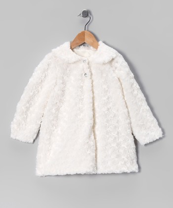 Ivory Minky Jacket - Infant, Toddler & Girls