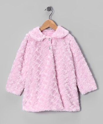 Pink Minky Swirl Jacket - Infant, Toddler & Girls