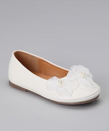 White Flower Flat