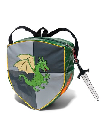 Gray Knight Shield Backpack