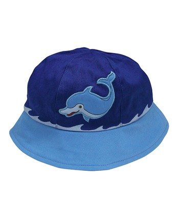 Blue Dolphin Bucket Hat