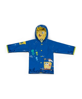 Blue SpongeBob Raincoat - Infant, Toddler & Kids