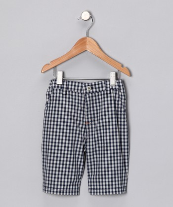 Blue Gingham Pants - Infant, Toddler & Boys