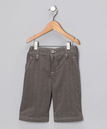 Brown Plaid Pants - Infant & Boys