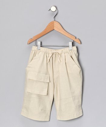 Tan Cargo Shorts - Toddler & Boys