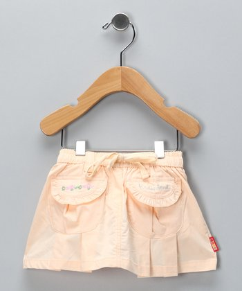 Peach Pocket Skirt - Infant & Girls