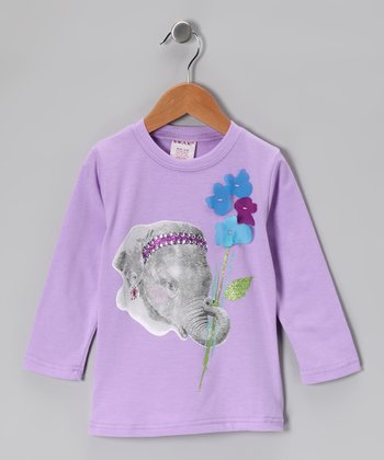 Purple Elephant Tee