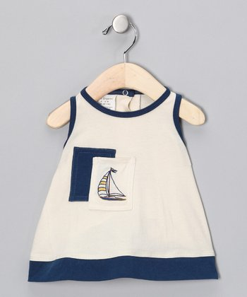 Natural Ship Organic Dress - Infant & Toddler