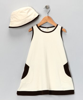 Natural Organic Sunhat & Dress - Infant & Toddler