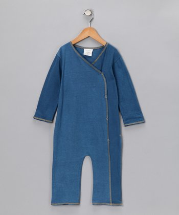 Denim Organic Playsuit - Infant & Toddler