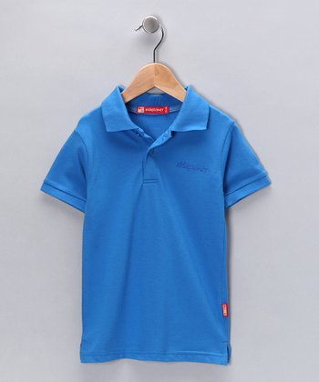Blue Polo - Toddler & Boys