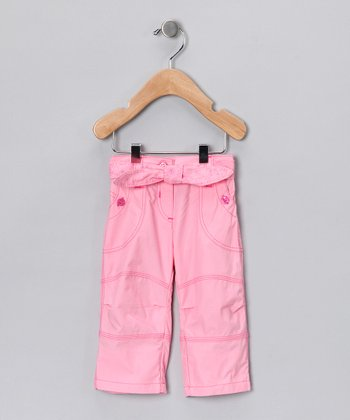 Light Pink Tie Pants - Infant