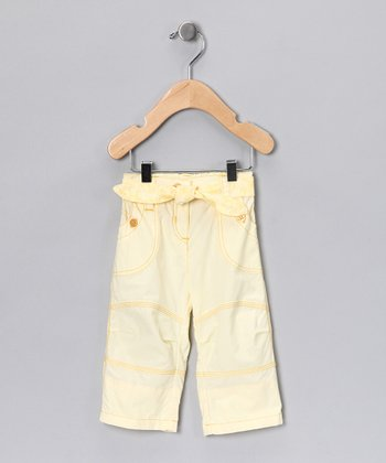 Yellow Tie Pants - Infant & Girls