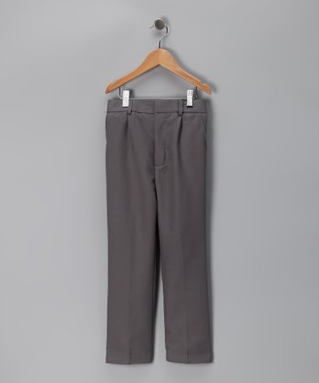 Dark Gray Pants - Boys