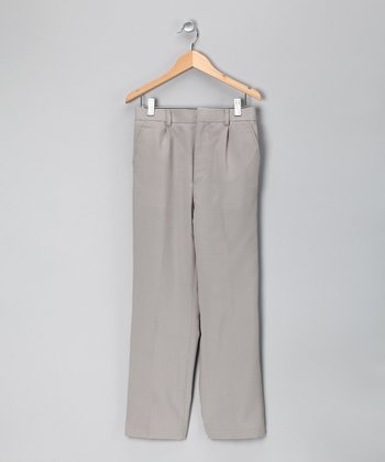 Light Gray Pants - Boys
