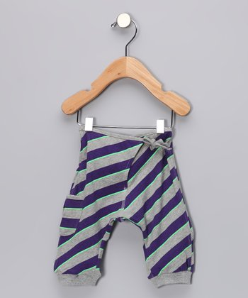 Gray Melee Wrap Sweatpants - Infant