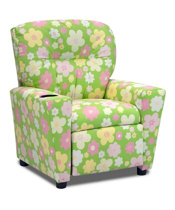 Baby Pink Buttercup Gate Recliner