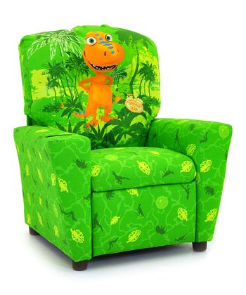 Green Buddy Dinosaur Train Recliner