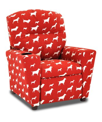 Red Friends Recliner