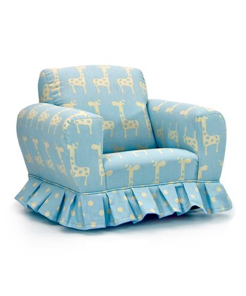 Misty Putty Giraffe Skirted Rocker