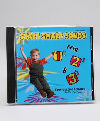 Start Smart Songs for 1's, 2's & 3's CD