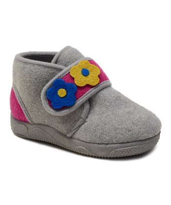 Kio Trend Gray Marigold Shoe - Girls