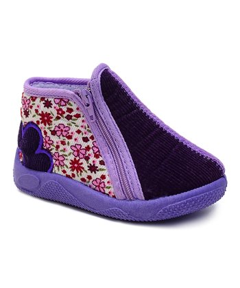 Kio Trend Lilac Aster Shoe - Toddler