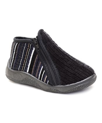 Black Curtis Slipper