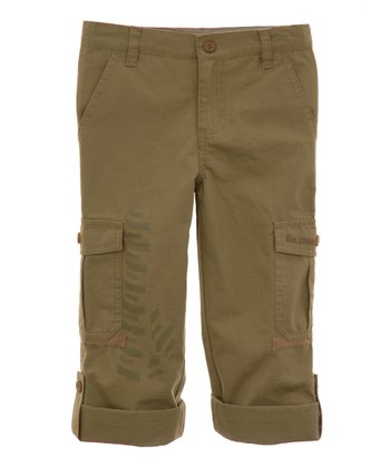 Battle Olive Cargo Pants - Toddler & Boys