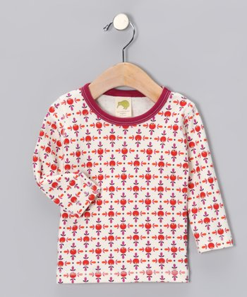 Red Elmo Organic Tee - Infant