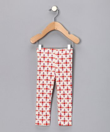 Red Elmo Organic Leggings - Infant