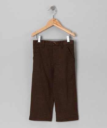 Walnut Alden Trouser Pants - Infant, Toddler & Boys