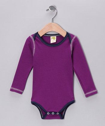 Violet Organic Bodysuit - Infant