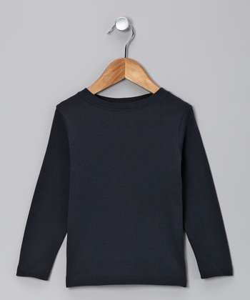 Navy Long-Sleeve Tee - Toddler & Boys