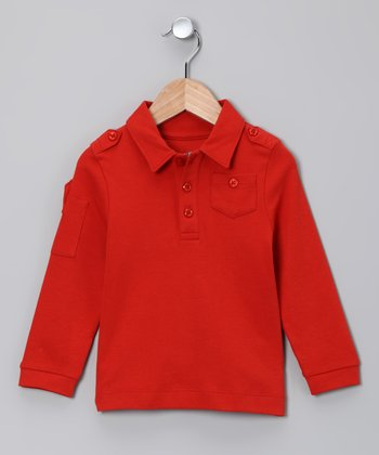 Auburn Long-Sleeve Polo - Toddler & Boys