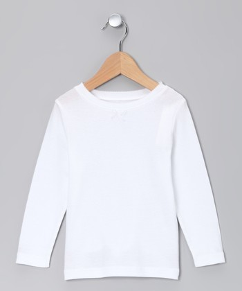 Snow Long-Sleeve Tee - Toddler & Girls