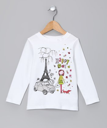 Snow 'Happy Day' Tee - Toddler & Girls