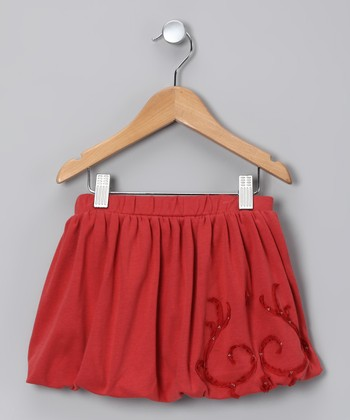 Persimmon Bubble Skirt - Toddler & Girls
