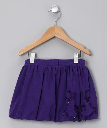 Plum Bubble Skirt - Toddler & Girls