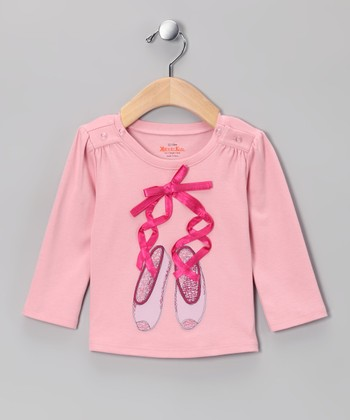 Petal Pink Ballet Slippers Tee - Infant