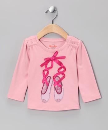 Petal Pink Ballet Slippers Tee - Infant