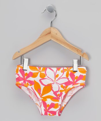 Hot Pink & Orange Underwear - Toddler & Girls