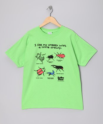 Lime Insect Tee - Boys