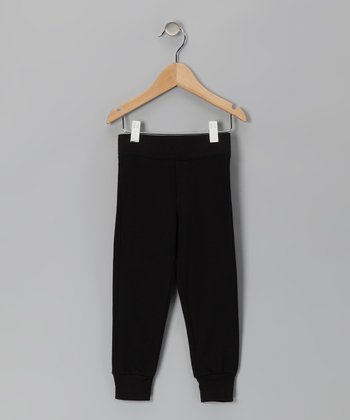 Black Cuff Pants - Infant, Toddler & Kids