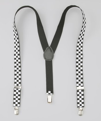 Black & White Suspenders