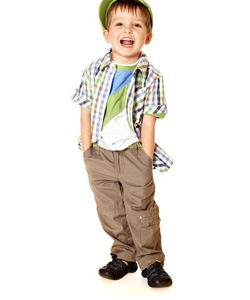 Beige Twill Pants - Toddler & Boys