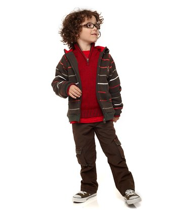 Brown Trekking Zone Pants - Toddler