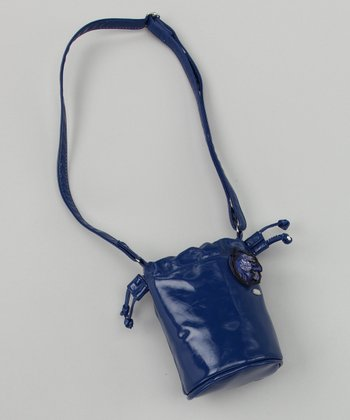 Blue Bucket Purse