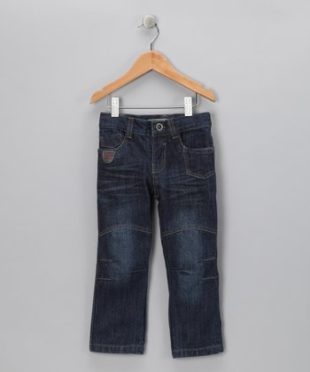 Distressed Patch Jeans - Boys