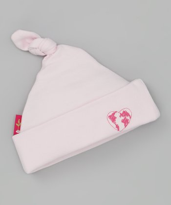 Pink Our World Organic Single-Knot Beanie
